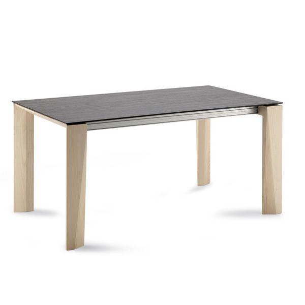 maxim 182 table domitalia en bois plateau en c ramique. Black Bedroom Furniture Sets. Home Design Ideas