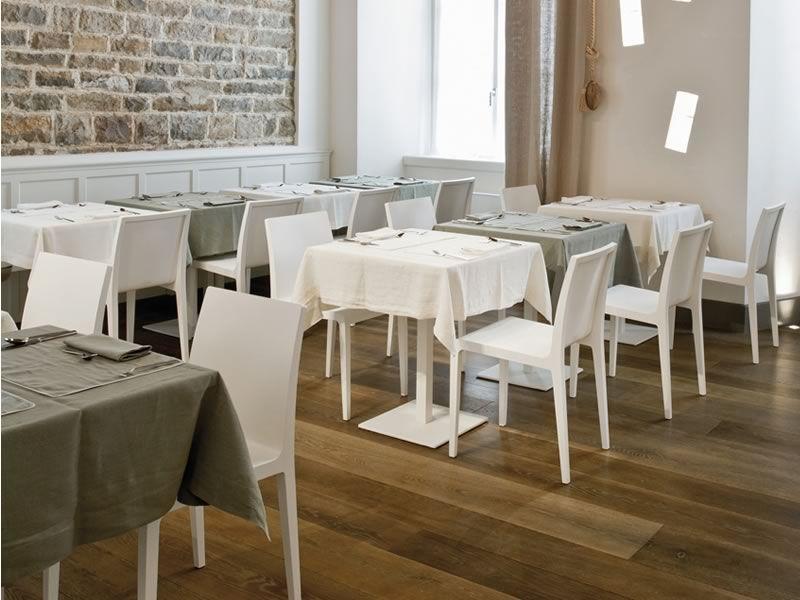 Young sedia di design per ristorante in rovere sediarreda