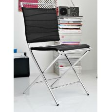 CB1395 Air Folding - Connubia - Calligaris folding chair made of metal and Net, several colours available