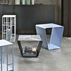 Pattern - Tavolino di desing Bontempi Casa, in metallo laccato, diversi colori disponibili