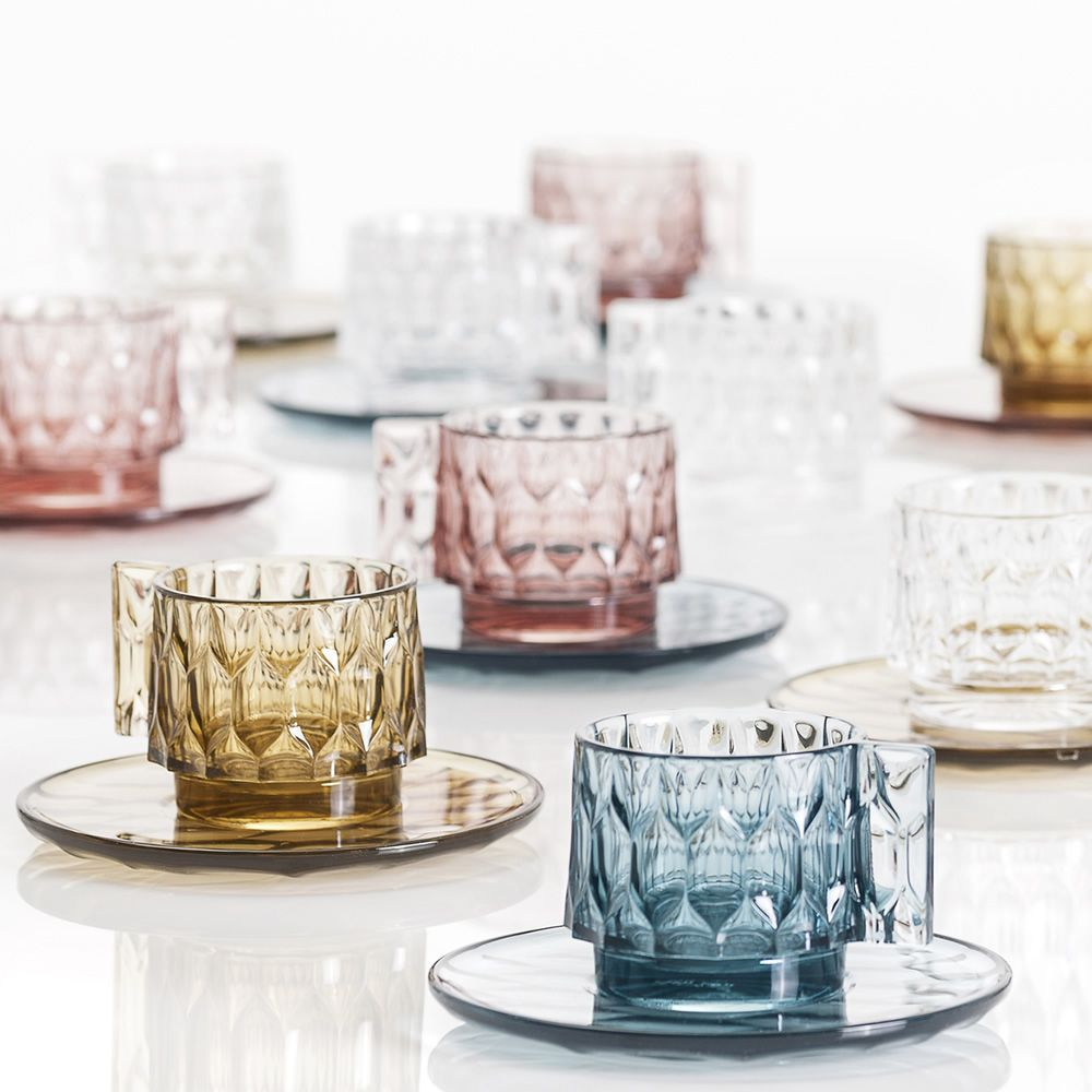 jellies family coffee tasses caf design kartell en. Black Bedroom Furniture Sets. Home Design Ideas