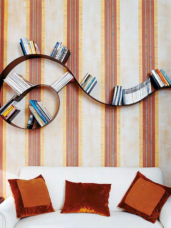 Bookworm-Popworm: Kartell design bookcase, in PVC, different shapes ...