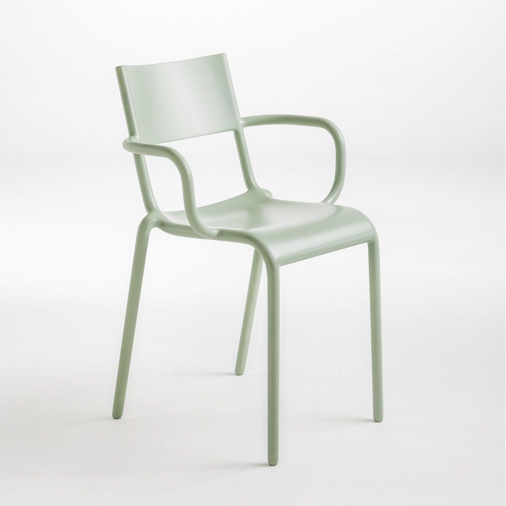 Generic a sedia kartell di design in polipropilene impilabile anche per esterno sediarreda - Sedia di design ...