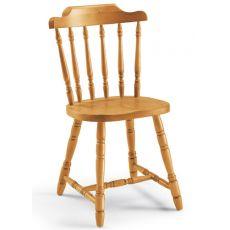 AV104 - Country stile chair in pine wood, several colours, four restaurants