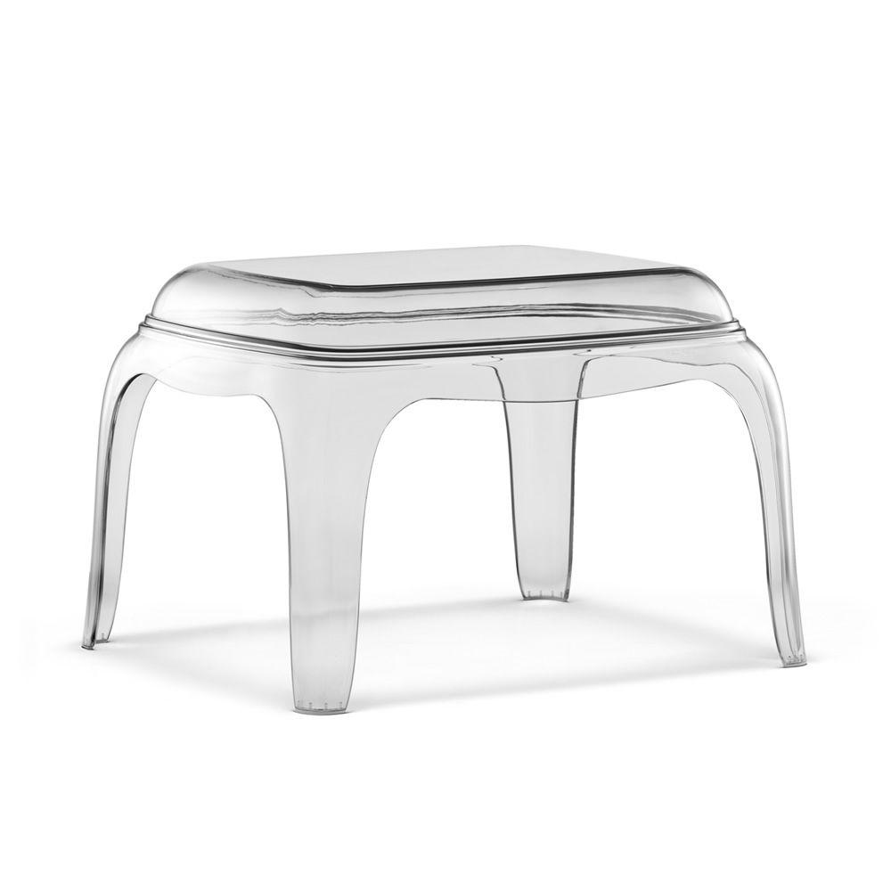 pasha 661 table basse pouf pedrali en polycarbonate. Black Bedroom Furniture Sets. Home Design Ideas