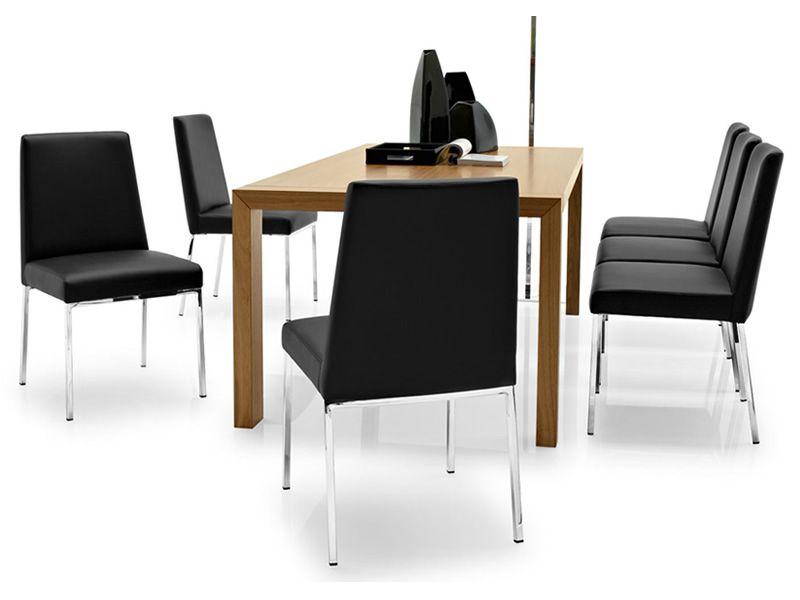 cb1286 amsterdam stuhl connubia calligaris aus metall gepolstert mit leder oder kunstleder. Black Bedroom Furniture Sets. Home Design Ideas