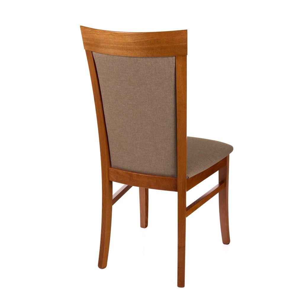 mu30 moderner holzstuhl sitz und r ckenlehne sind gepolstert in verschiedenen farben und mit. Black Bedroom Furniture Sets. Home Design Ideas