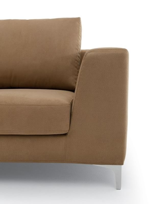 Avatar chaise longue 2 or 3xl modern sofa with chaise for Chaise longue online