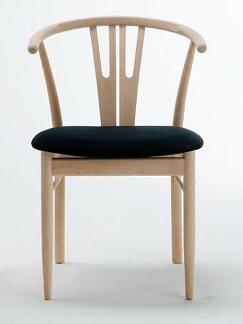 Vega: Silla ecológica de madera, asiento en eco cuero - Sediarreda