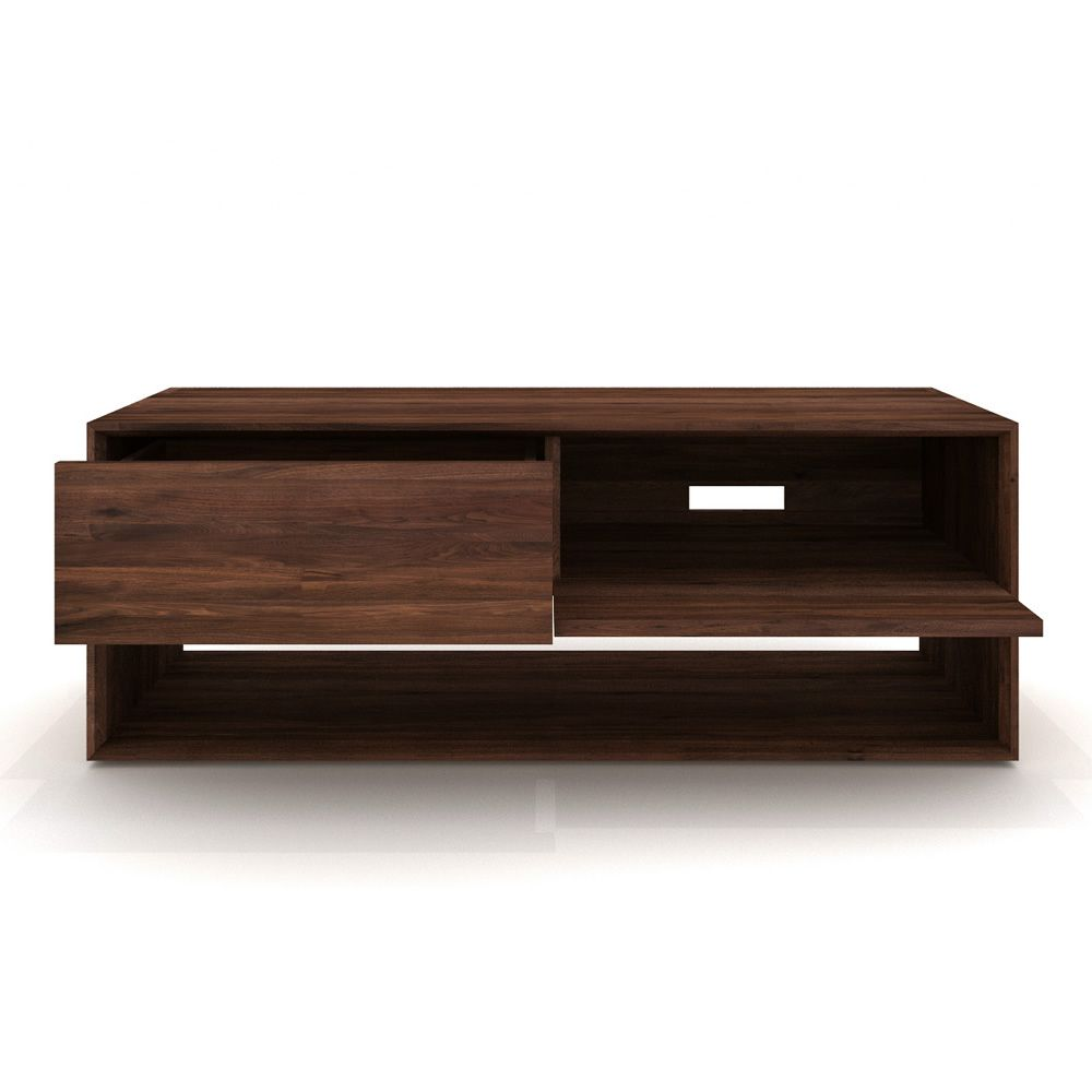 Nordic tv meuble tv ethnicraft en bois disponible en for Meuble tv dimension