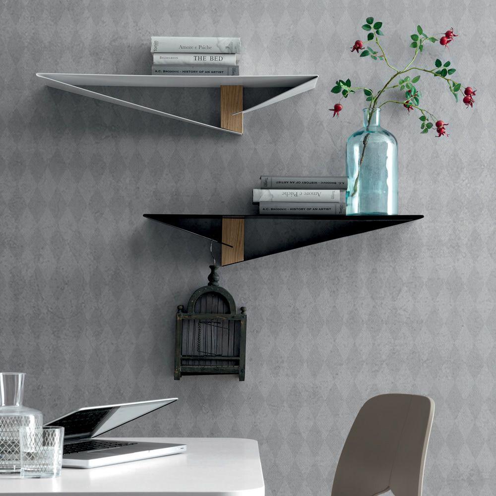 Mensole In Metallo Design.Albatros 6441 Mensola Tonin Casa In Metallo E Legno Sediarreda Com