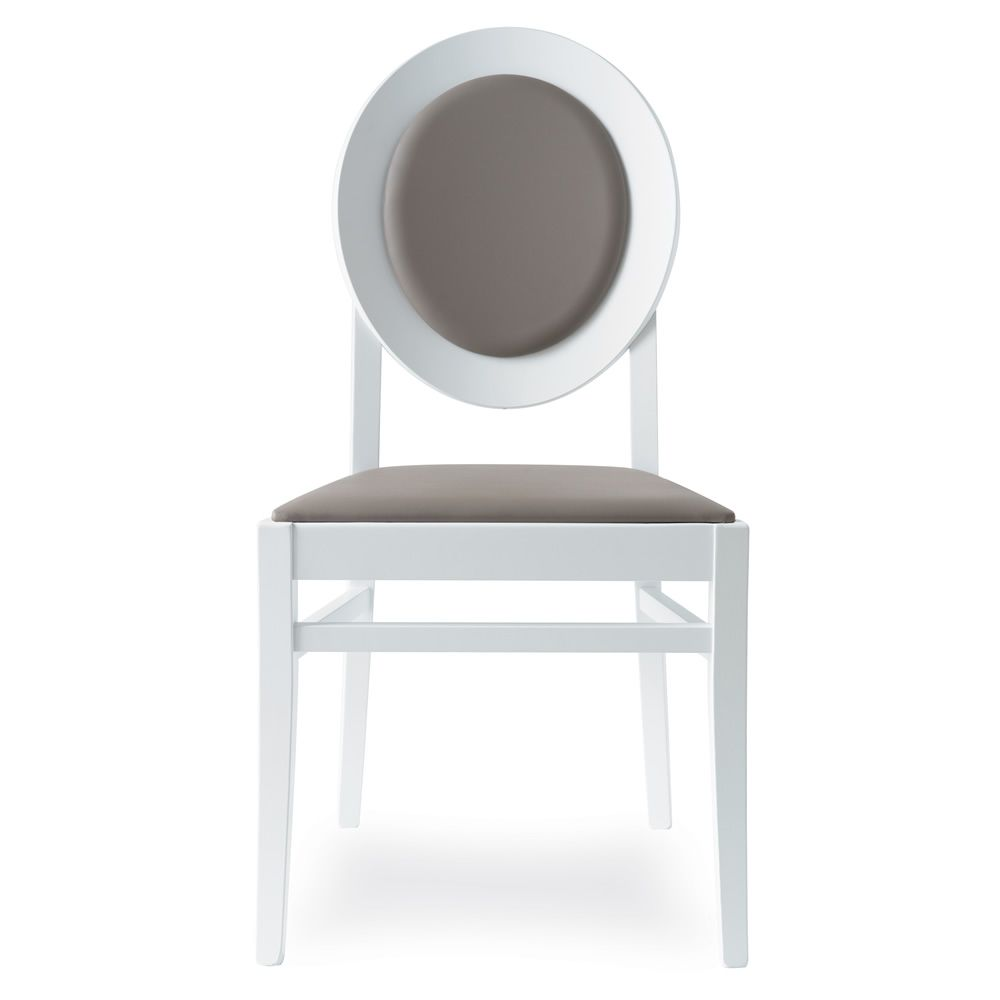 Cb1648 notre dame chaise connubia calligaris en bois Chaise bois gris