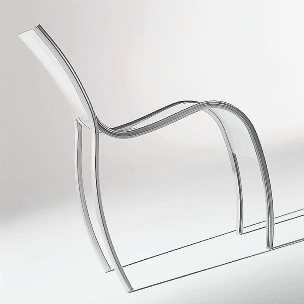 Fpe sedia kartell di design impilabile in alluminio e for Sedie design kartell
