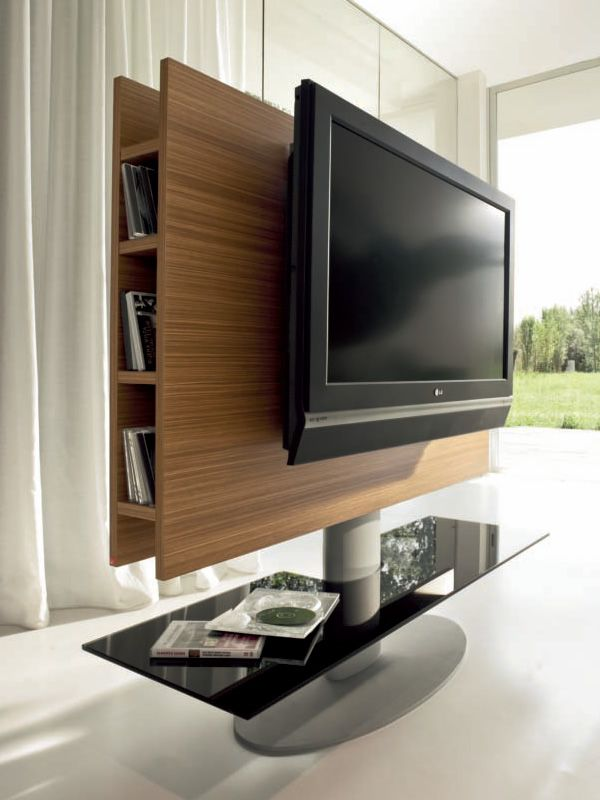 cortes 7095 tv m bel tonin casa aus holz und metall mit glasfach in verschiedenen ausf hrungen. Black Bedroom Furniture Sets. Home Design Ideas
