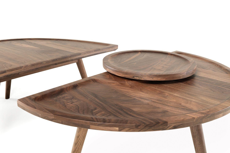 Colombo tavolino di design in legno disponibile in diverse