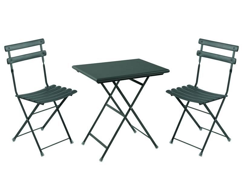 Arc En Ciel 334: Table Pliable Emu En Métal, Disponible En