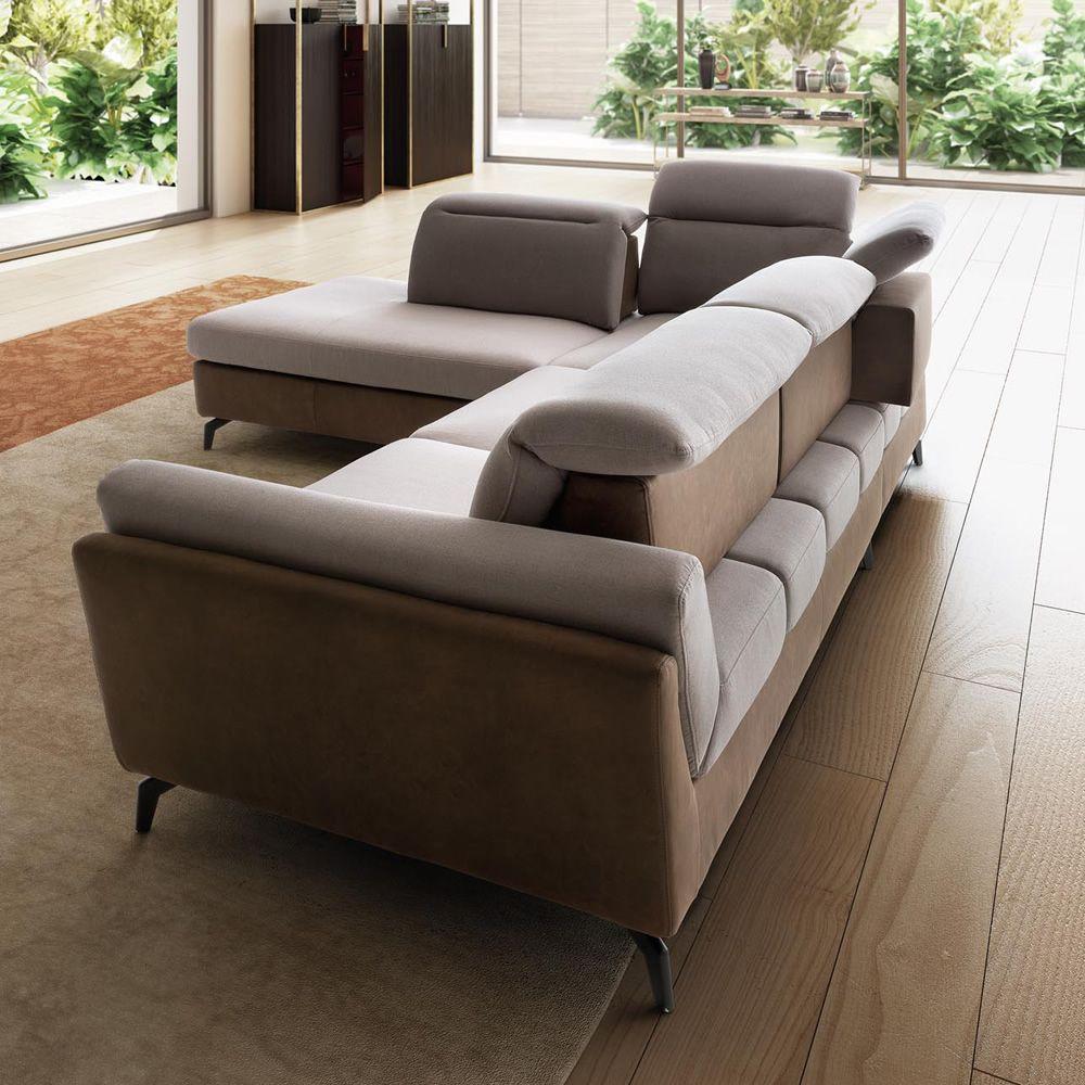 naviglio canap 2 3 ou 3 places maxi dossiers coulissants et appui t tes inclinables. Black Bedroom Furniture Sets. Home Design Ideas