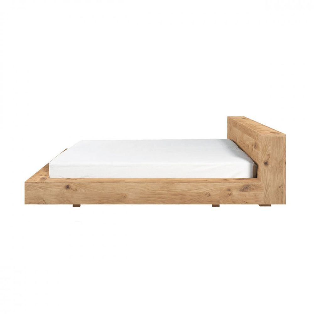 Madra lit double ethnicraft avec structure en bois disponible en diff rente - Lit double dimension ...