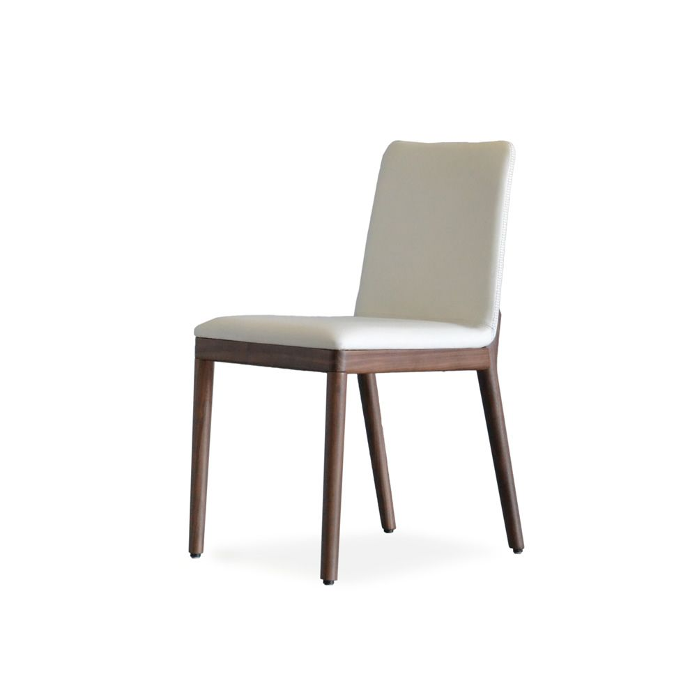 Salt pepper chair chaise moderne en bois tonon avec assise rembourr e sediarreda - Chaise en anglais traduction ...