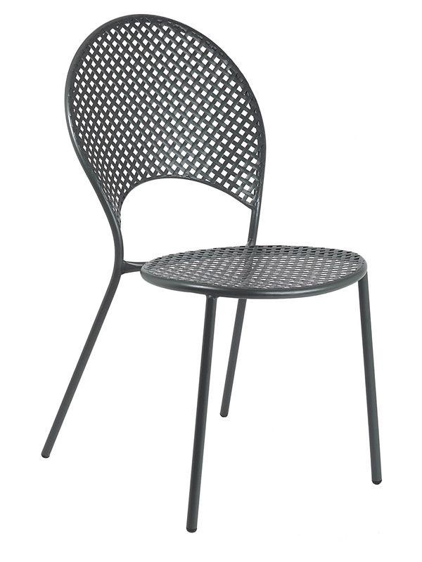 sole pour bars et restaurants chaise empilable en m tal pour l 39 ext rieur disponible en. Black Bedroom Furniture Sets. Home Design Ideas