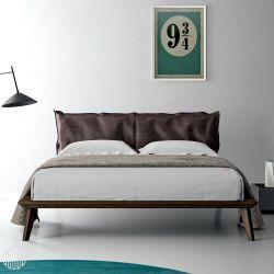 morgan letto matrimoniale dall 39 agnese con struttura in legno testiera imbottita diverse. Black Bedroom Furniture Sets. Home Design Ideas