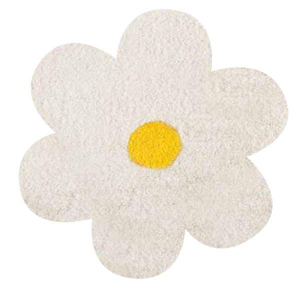 Daisy Teppich in Blütenform, verschiedene Farben