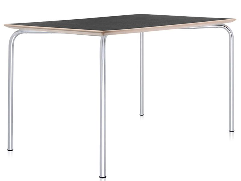 Maui table tavolo kartell di design in acciaio e laminato