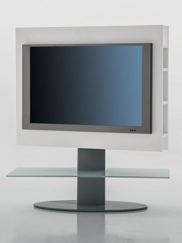 cortes 7095 meuble porte tv tonin casa en bois et m tal avec tag re en verre en diff rentes. Black Bedroom Furniture Sets. Home Design Ideas