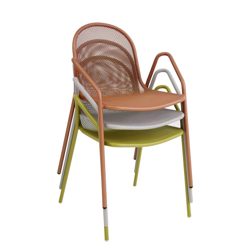 Nova 661 para bare y restaurantes silla emu con for Jardin 7 colores bernal
