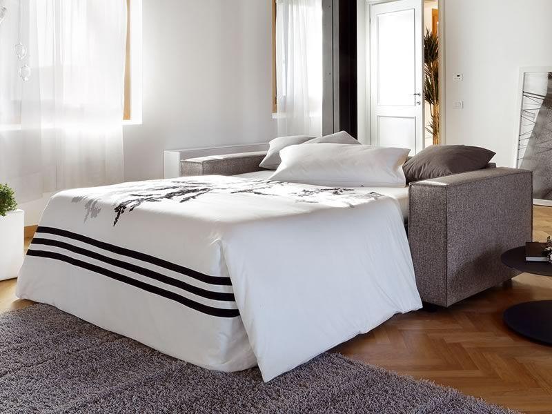 Bolero divano letto moderno a 2 o 3 posti maxi sediarreda - Divano letto aperto ...