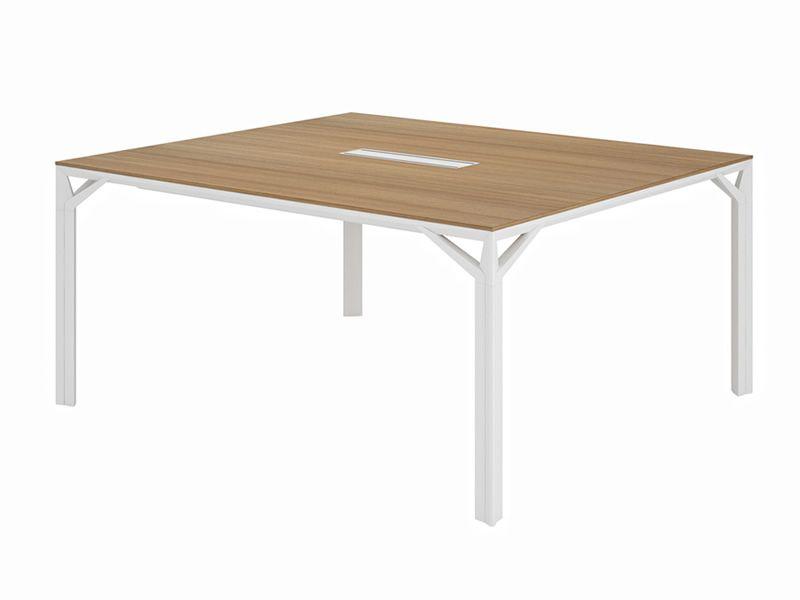 Tavolo Ufficio Bianco : Office x8 meet tavolo per sala riunioni o grande scrivania in