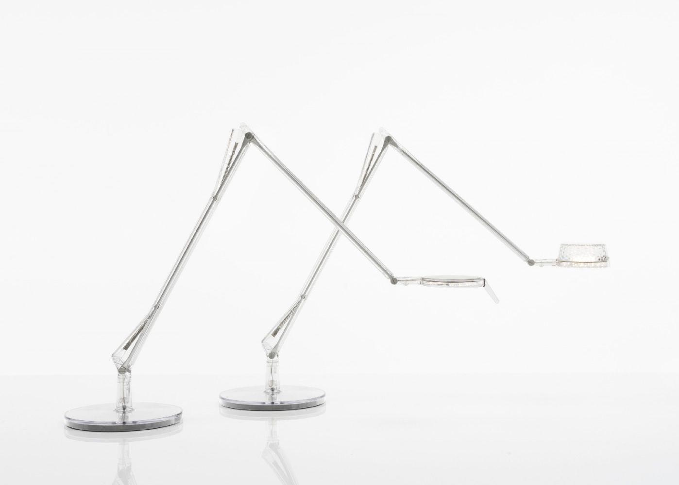 Aledin - Lampada da tavolo Kartell, in policarbonato e alluminio, LED, disponibile in diversi ...