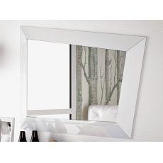 Look - Specchio moderno con cornice in legno o cristallo