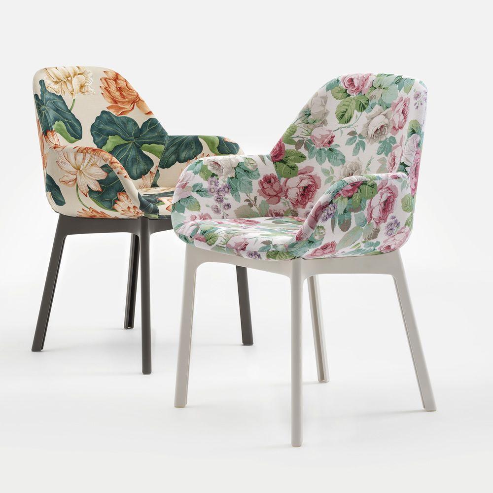 Sedie E Poltroncine Kartell.Clap Flowers Poltroncina Kartell Di Design In Tecnopolimero