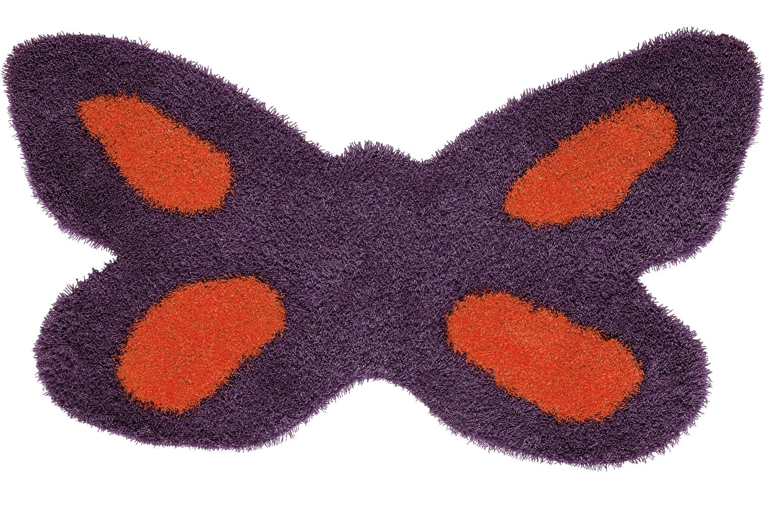 Butterfly | Tappeto color viola