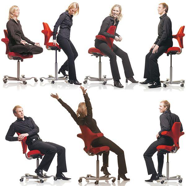 capisco 8106 promo chaise de bureau ergonomique h g avec assise en forme de selle en promo. Black Bedroom Furniture Sets. Home Design Ideas