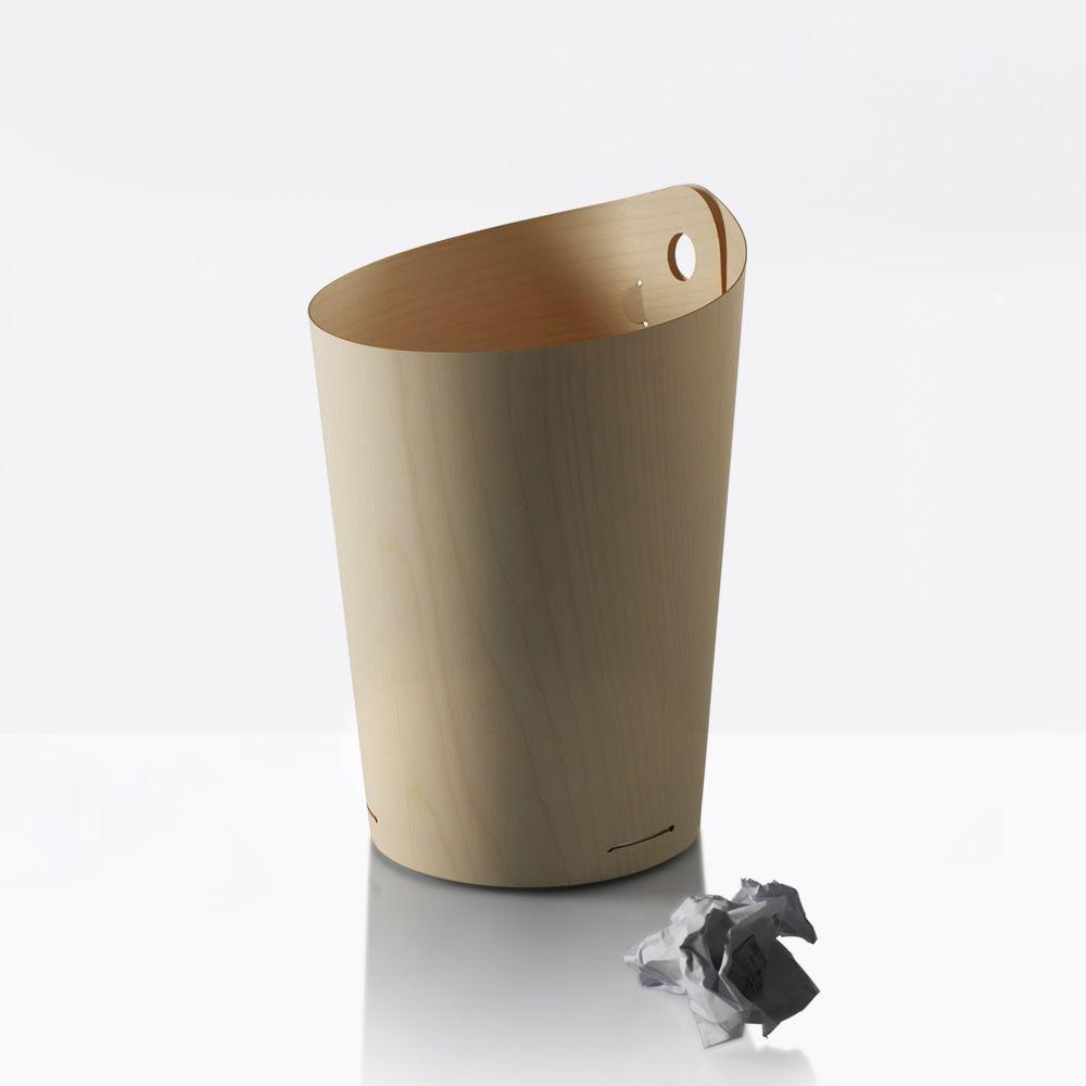 dove papierkorb aus holz und aluminium sediarreda. Black Bedroom Furniture Sets. Home Design Ideas