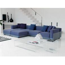 Asami 4P - Divano a 4 posti di Colico Design, in metacrilato, anche per esterno, diversi rivestimenti e colori disponibili