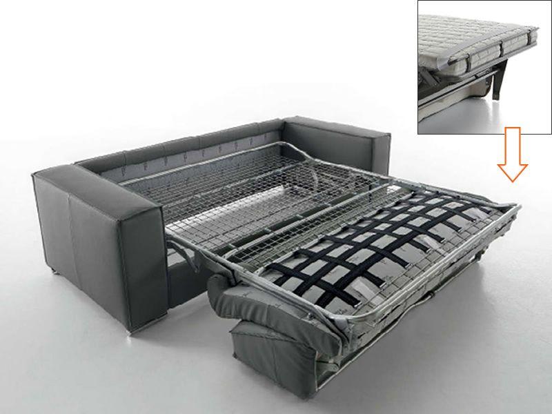 Lazio chaise longue divano letto a 2 3 o 3 posti xl - Divano letto con rete elettrosaldata ...