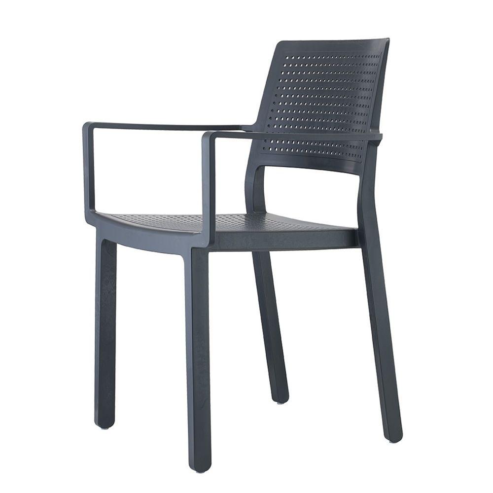 emi 2342 pour bars et restaurants chaise de bar en technopolym re avec accoudoirs empilable. Black Bedroom Furniture Sets. Home Design Ideas