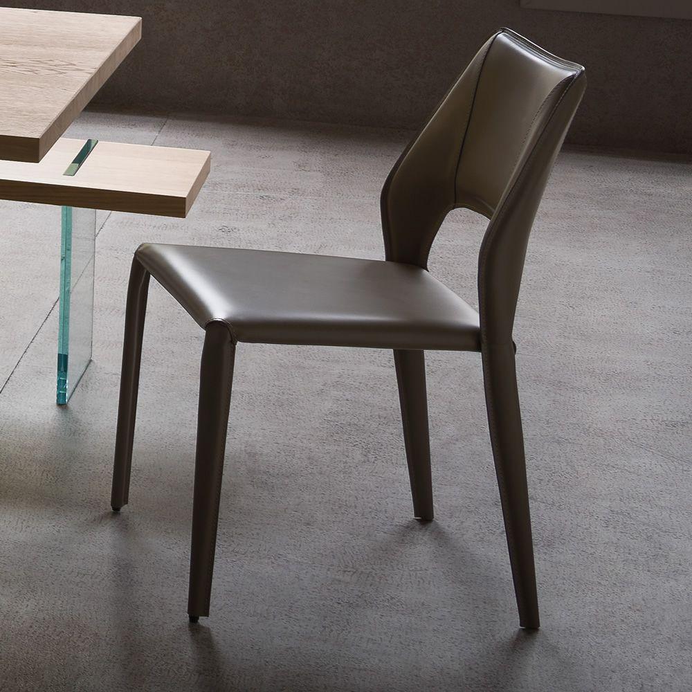 Atene sedia di design in metallo rivestita disponibile - Sedia di design ...