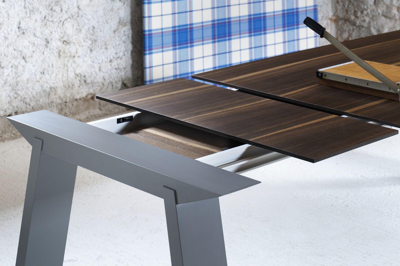 Tavolo Allungabile Gambe Sciabola Ghost Miniforms : Artù tavolo rettangolare miniforms in legno fisso o