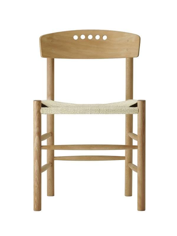 Sfera - Sedia ecologica in legno, seduta impagliata a mano - Sediarreda