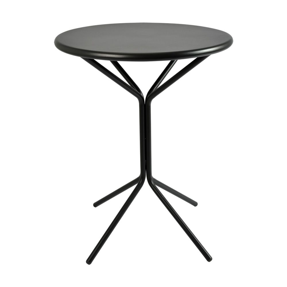 rig83 table ronde en m tal diam tre 60 cm en diff rentes couleurs pour jardin sediarreda. Black Bedroom Furniture Sets. Home Design Ideas