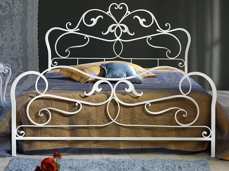 Rubens letto matrimoniale in ferro battuto disponibile - Letto matrimoniale ferro battuto bianco ...