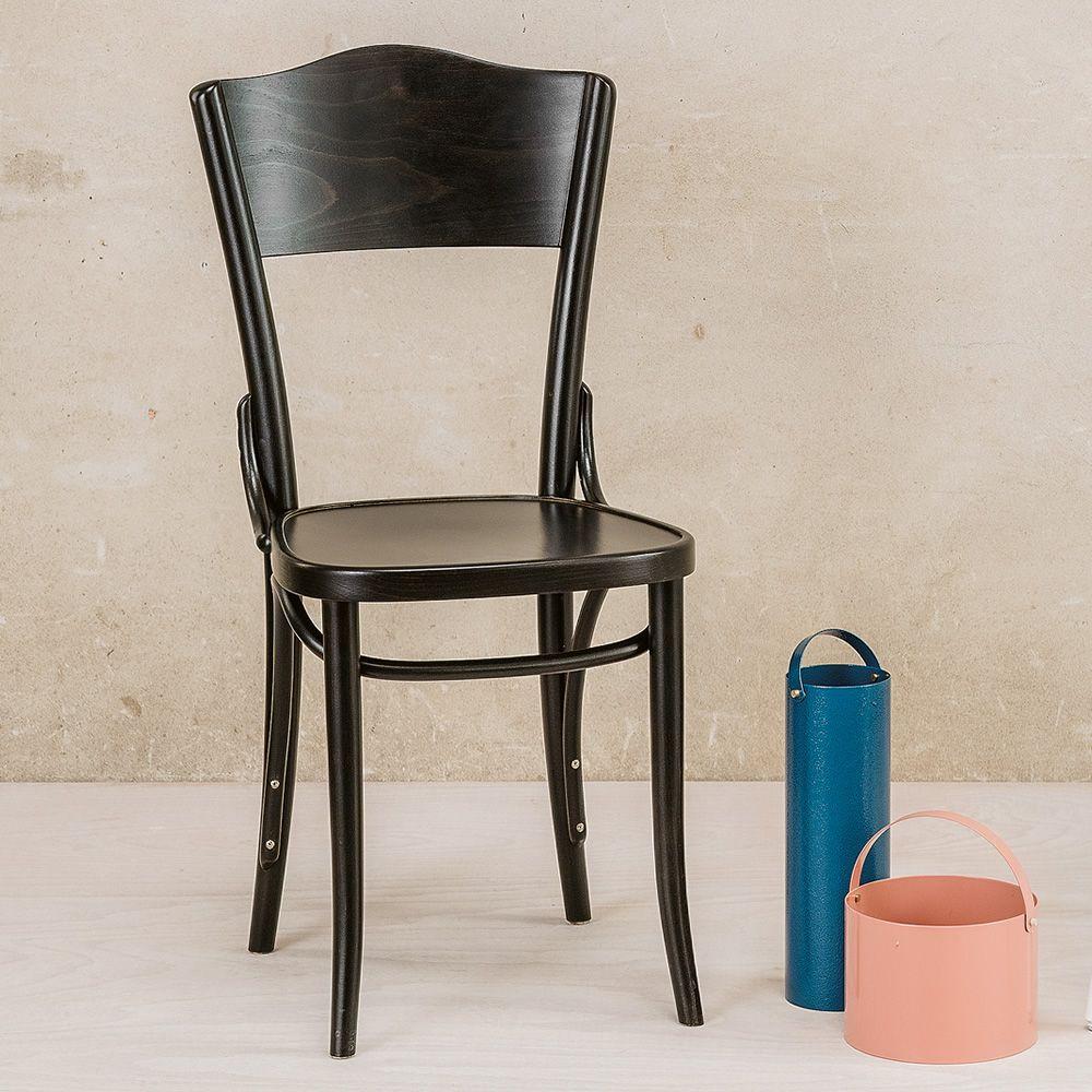 Dejavu 054   Designer Stuhl Aus Buchenholz In Der Farbe Kaffeebraun Lasiert