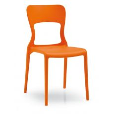CB1312 Helios - Connubia - Calligaris stackable polypropylene chair available in several colours, also for outdoor
