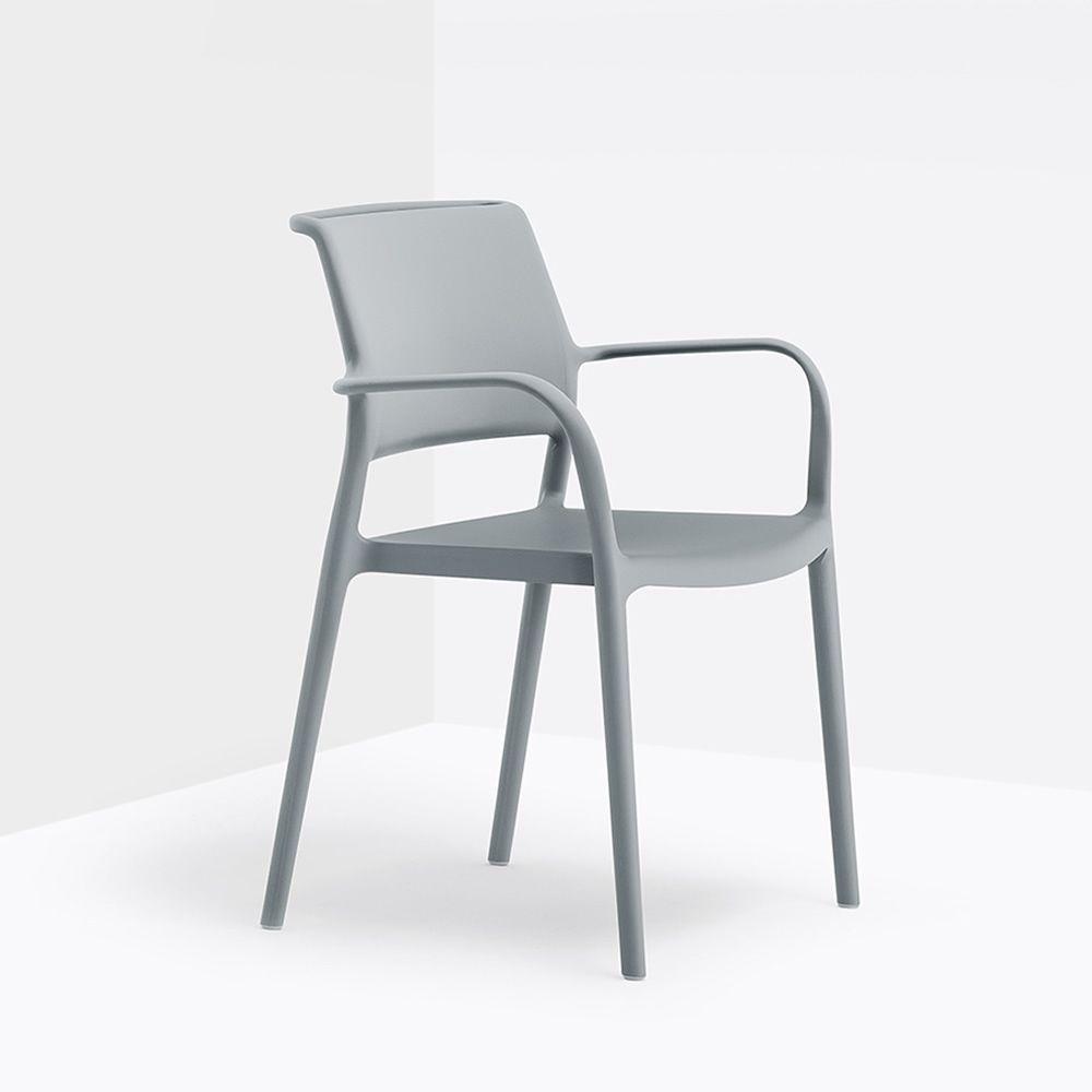 ara 315 fauteuil pedrali en polypropyl ne empilable aussi pour jardin sediarreda. Black Bedroom Furniture Sets. Home Design Ideas