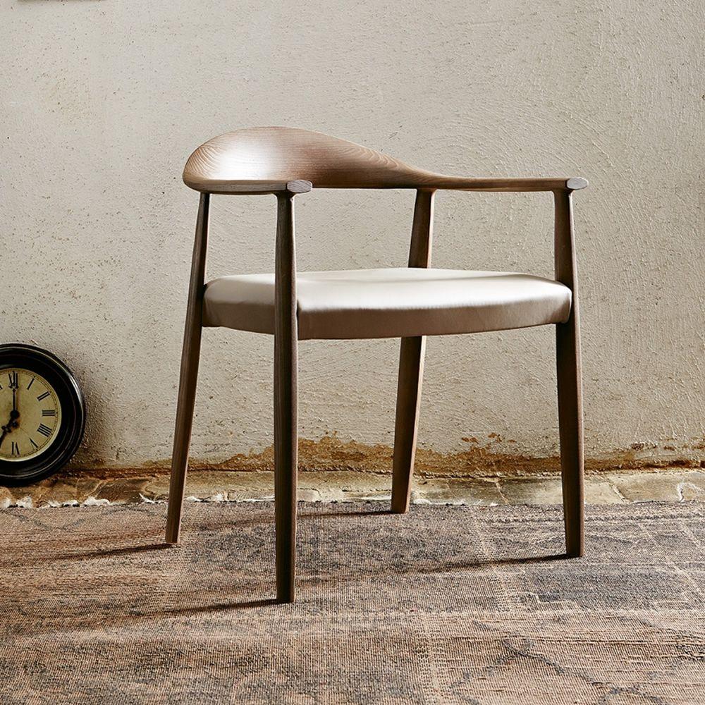 Odyss e sedia colico in legno con seduta in paglia o for Sedia di design