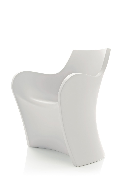 Woopy petit fauteuil design b line le poly thyl ne - Petit fauteuil blanc ...